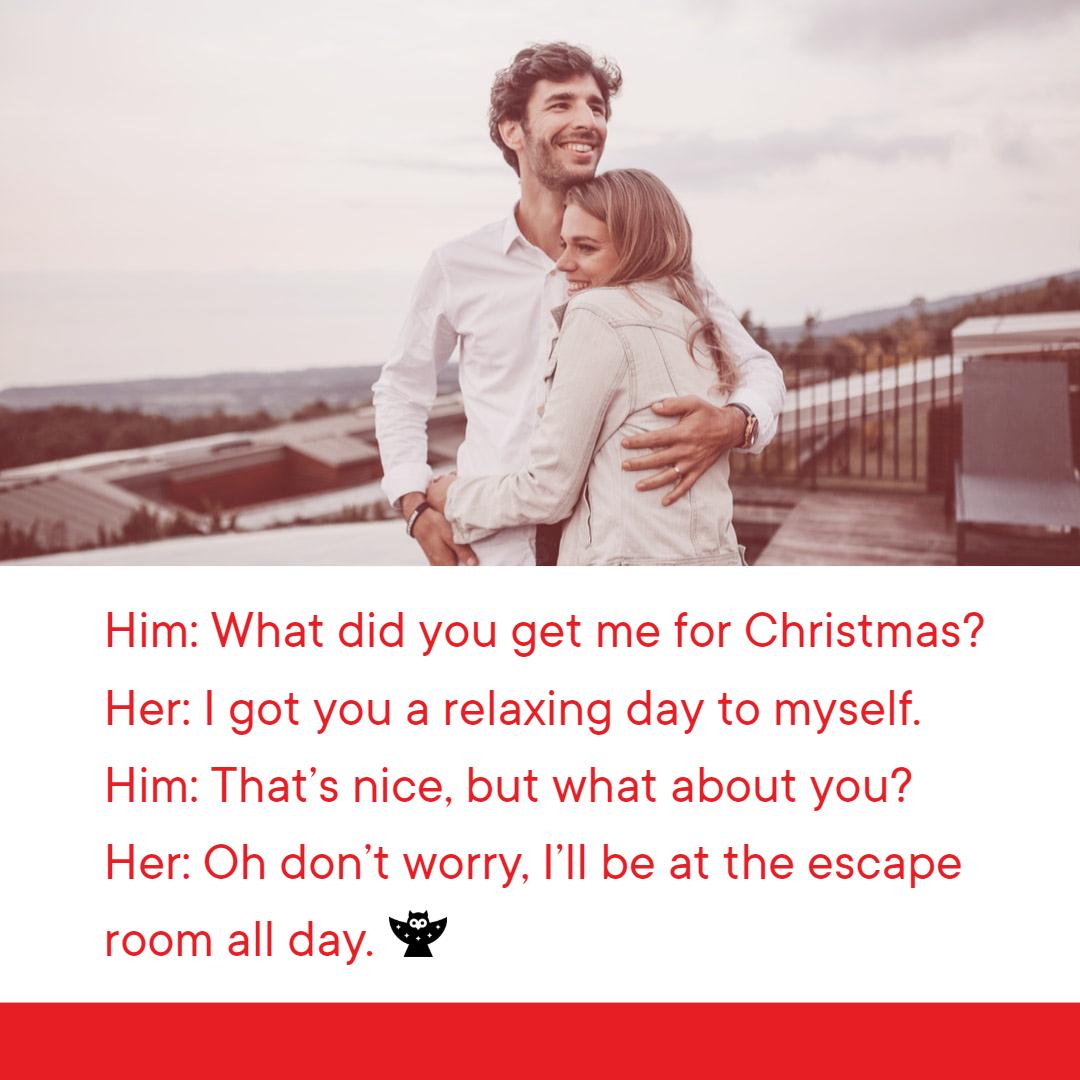 Escape Room Holiday Hour Blog Meme